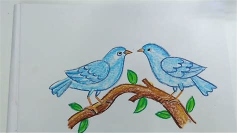 how to draw birds easy step by step youtube
