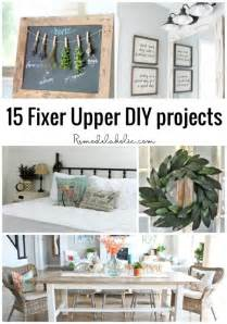 Joanna gaines with these 15 fixer upper diy projects no trip to waco