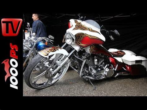 Motorrad Custom Felge by Video Thunderbike Harley Davidson Bagger Mit 30 Zoll