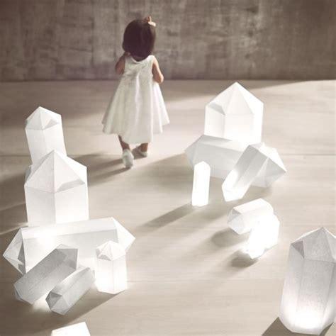 paper geode luminarias   modern wedding   decor
