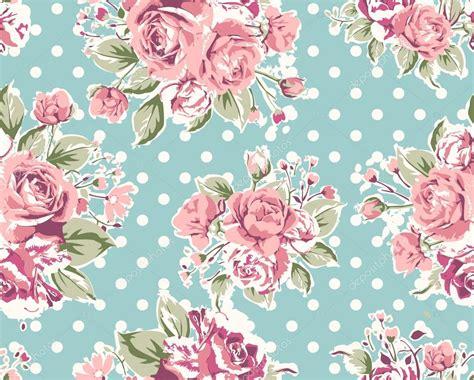wallpaper dinding vintage flower tapete nahtlose vintage rosa blumenmuster auf braunen