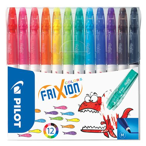 erasable colored pens pilot frixion colors erasable colouring pen assorted