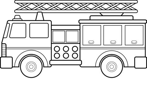 lego fire truck coloring page free fire images cliparts co
