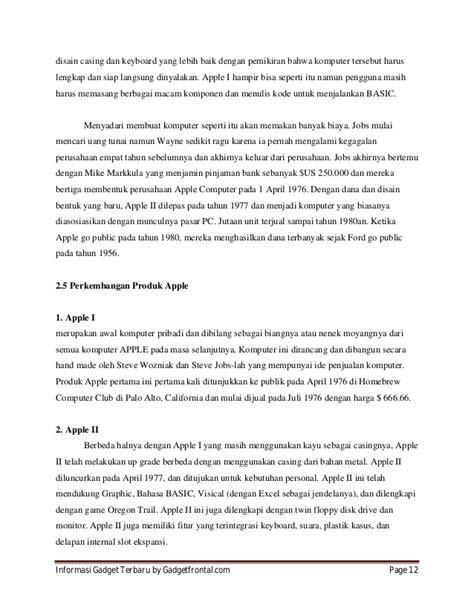 layout perusahaan apple perkembangan smartphone dan sejarah perusahaan apple