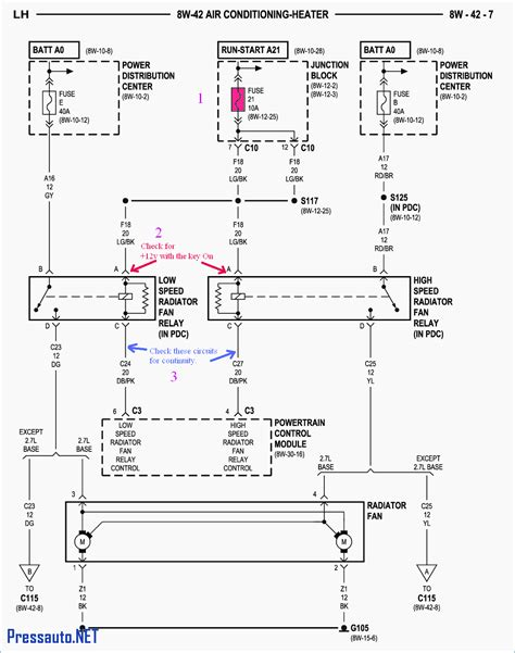 2004 pt cruiser fuse box diagram free wiring