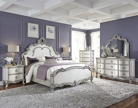 White And Silver Bedroom Silver Bedroom Designs