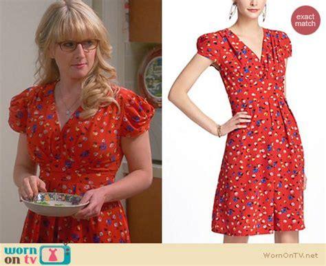 Big Theory Wardrobe by Wornontv Bernadette S Thanksgiving Dress On The Big