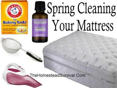 clean mattress span