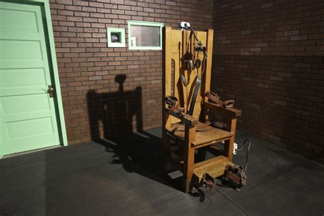 The Shocking Truth About The Electric Chair Washington Liberals Furious When Gets The Electric Chair In A