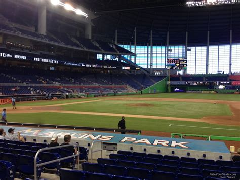 section 8 miami marlins park section 8 miami marlins rateyourseats com