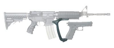 glock pistol used at ar 15 foregrip the firearm blogthe