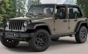 Jeep Wrangler Willys Edition Willys Wheeler Another Wrangler Special Edition