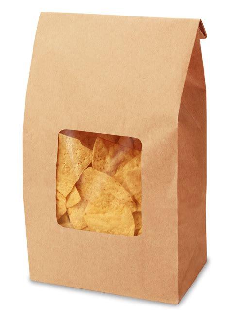 Tortila Bag window tortilla chip bag 171 bagcraft