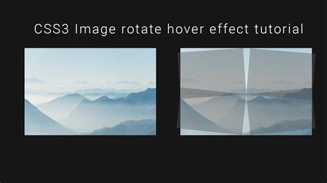Css3 Background Pattern Effect | css image overlay rotate hover effect css3 tutorial pure