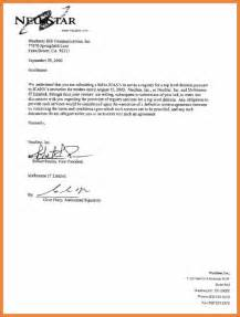 letter of intent for sop