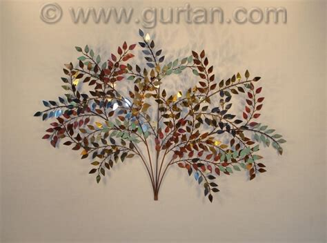 Fish Stickers For Walls branches metal wall art metal wall sculpture home decor