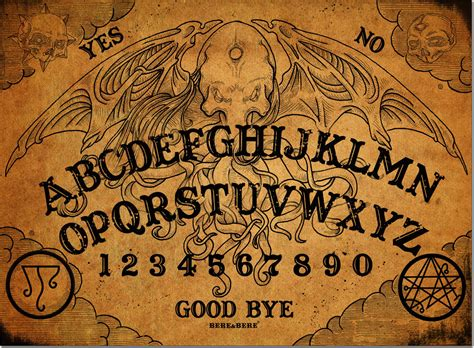 cthulhu talking board ouija board witchcraft spirit board