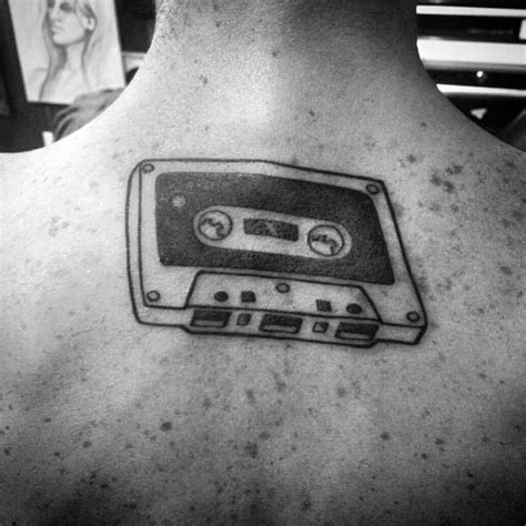 cassette tape tattoo patterns pictures to pin on pinterest