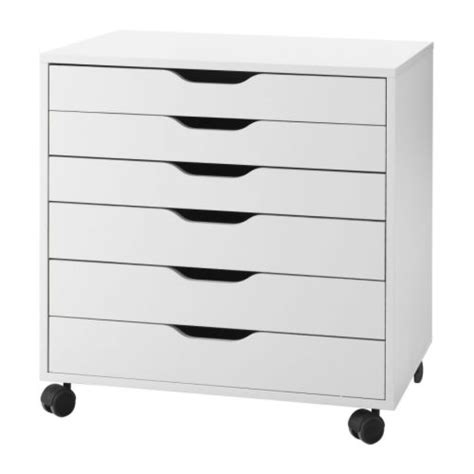 alex drawer unit on castors ikea
