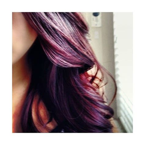 bottom hair color is different purple ombre hair hair ideas pinterest