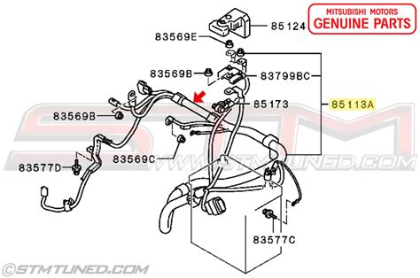 positive battery terminal wire harness wiring wiring