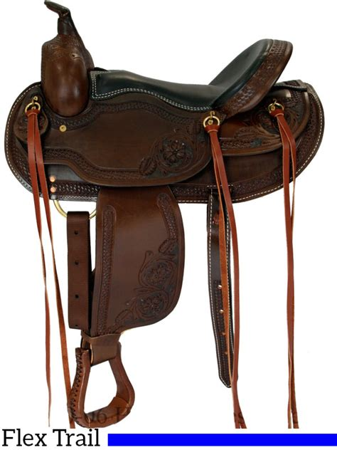 the wire horse western saddles circle y tucker tex 15 quot to 17 quot dakota western saddle flex tree trail saddle 2212