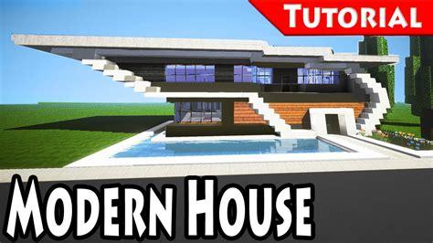 Tutorial Modern Minecraft Easy Modern House Mansion Tutorial 6 Do