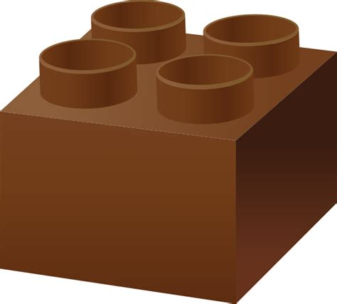 Lego Brown brown lego brick vector data for free svg vector domain icon park the