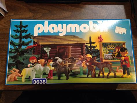 playmobil  retired vintage rare childrens petting