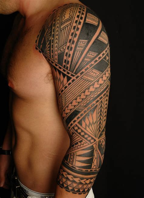 mens tribal tattoo sleeves mens sleeve tribal tattoos tattoos