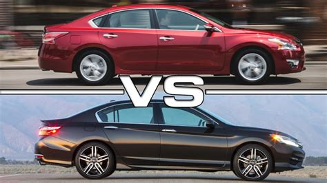 Maxima Vs Altima 2016 by 2016 Nissan Altima Vs 2016 Honda Accord