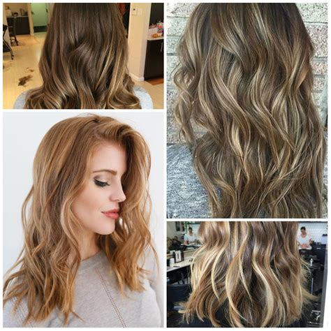 best hair color ideas trends in 2017 2018 page 2 il degrad effetto naturale e luminoso per i capelli