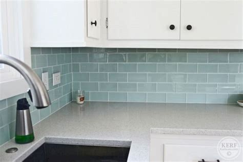 blue glass tile kitchen backsplash 37 blue sea glass tile kitchen backsplash decoredo