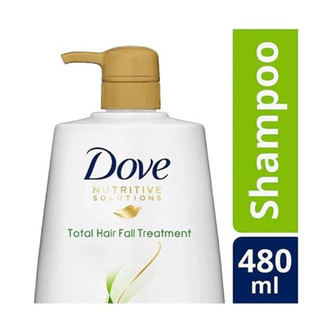 Harga Dove Total Hair Fall Treatment jual dove hair fall treatment shoo 480 ml