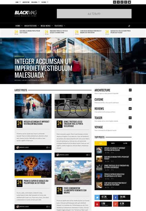 75 best free wordpress magazine themes 2017 freshdesignweb