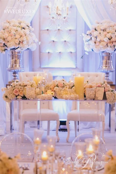 111 best Weddings  Sweetheart table ideas images on