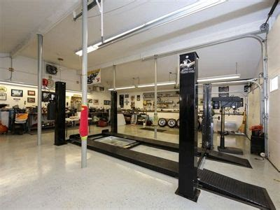 design your dream shop dream garage with car lift and mechanics pit in wall nj