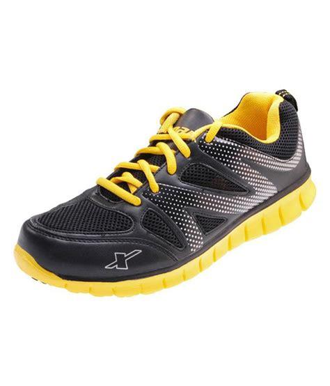 Sport Shoes Black Yellow 56125 sparx black yellow sport shoes buy sparx black yellow