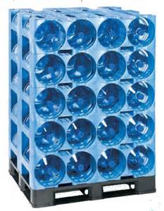 plastic storage racks 5 gallon water jug rack prostack