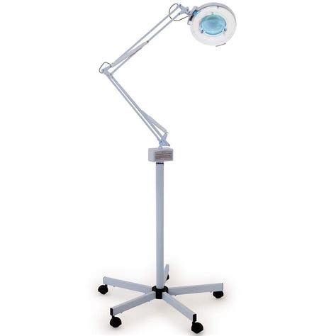 floor magnifying light total fab desktop l with magnifying lens and floor