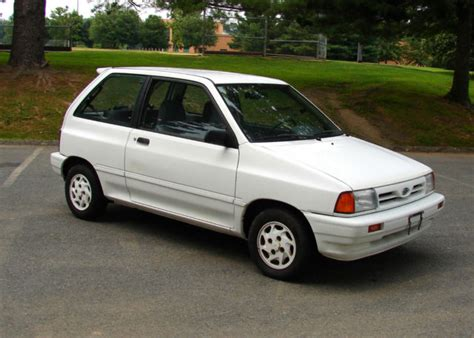 old car owners manuals 1992 ford festiva seat position control rare 1992 ford festiva gl sport low miles good condition no reserve auction for sale in silver