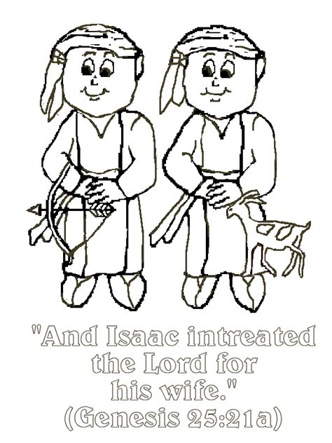 home decor printables archives crafty housewife sunday school coloring pages jacob and esau archives