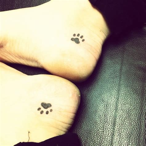 small dog tattoos best 25 cat paw tattoos ideas on cat paw