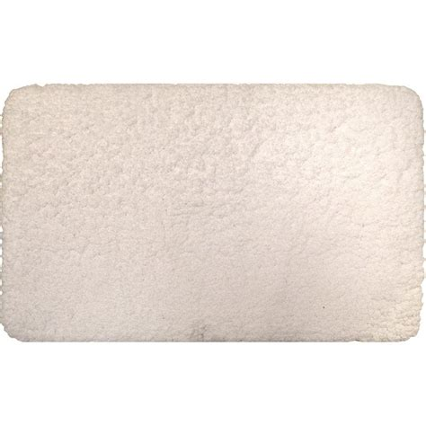 home dynamix superior white 21 in x 34 in microfiber