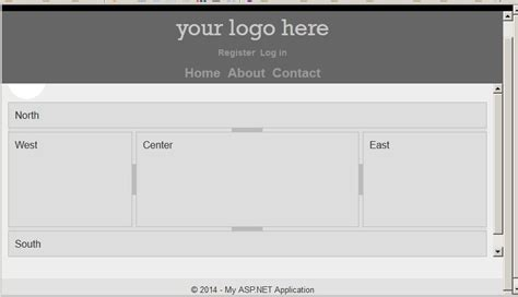 jquery ui layout container jquery function not working using jquery layout on asp net