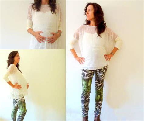 pattern maternity leggings oversized lycra lace top and jungle maternity leggings