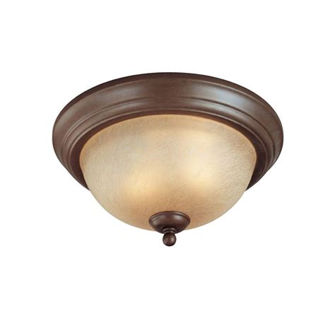 Vintage Flush Mount Ceiling Light Fixtures Westinghouse 2 Light Ceiling Fixture Saddle Bronze Interior Flush Mount With Antique Scavo