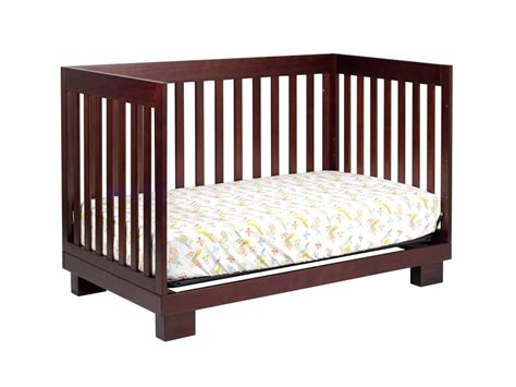 Babyletto Modo 3 In 1 Convertible Crib With Toddler Rail Babyletto Modo 3 In1 Convertible Baby Crib In Espresso M6701q