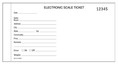 printable scale tickets scale tickets