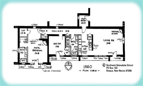 adobe house plans adobe house floor plan single adobe house plans plan view